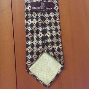 Pierre Balmain tie 100% Italian silk